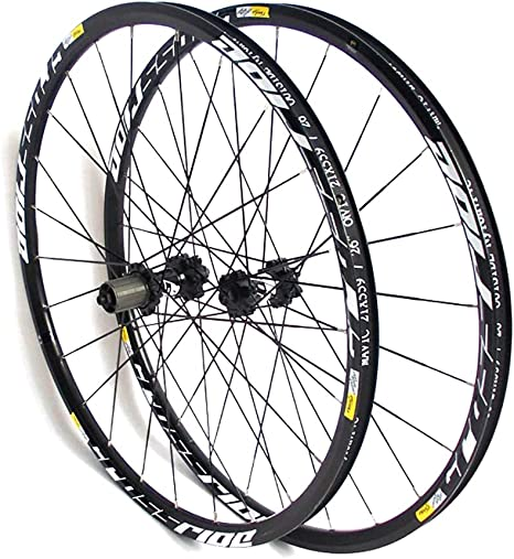 LIDAUTO Rueda de Bicicleta de montaña MTB de Fibra de Carbono ...