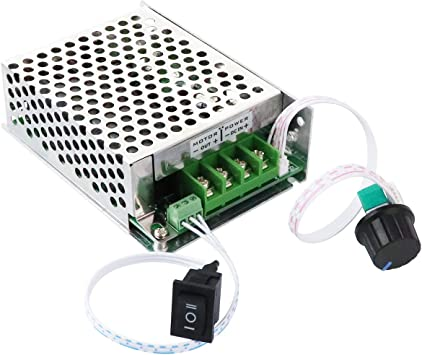 DC10V 12V 24V 36V 48V 60A PWM DC Motor Speed Controller CW CCW Reversible Switch