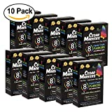 Cedar Markers Liquid Chalk Markers - 8 Pack With 2 Free Wine Glass Markers and 20 Chalkboard Labels. Neon Color Pens. Reversible Bullet And Chisel Tip And A Brand New Revolutionary Cap (10 Pack)