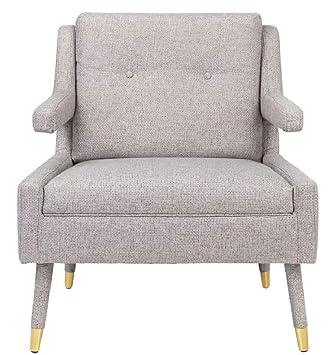 Casa-Padrino sillón de Lujo Gris/Oro 76 x 88 x H. 89 cm ...