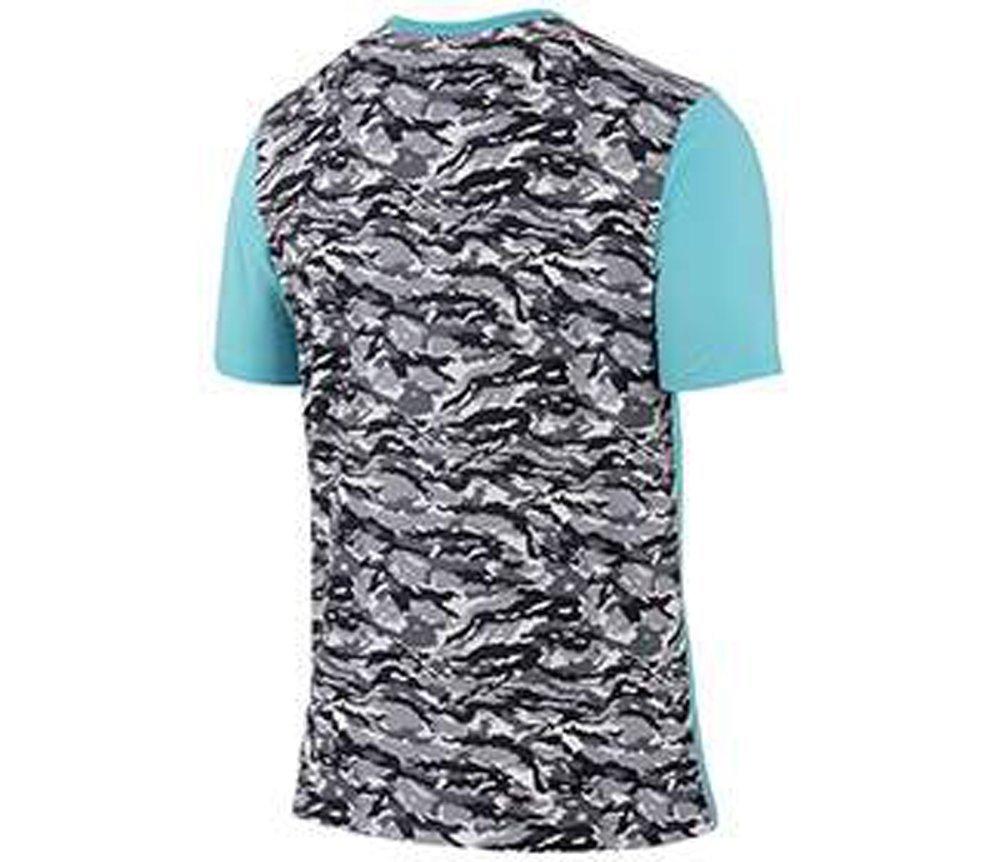 Rafael Nadal niké 2015 ATP Master tenis Rafa henselite Desafiador hombres camiseta, Copa azul, L: Amazon.es: Jardín