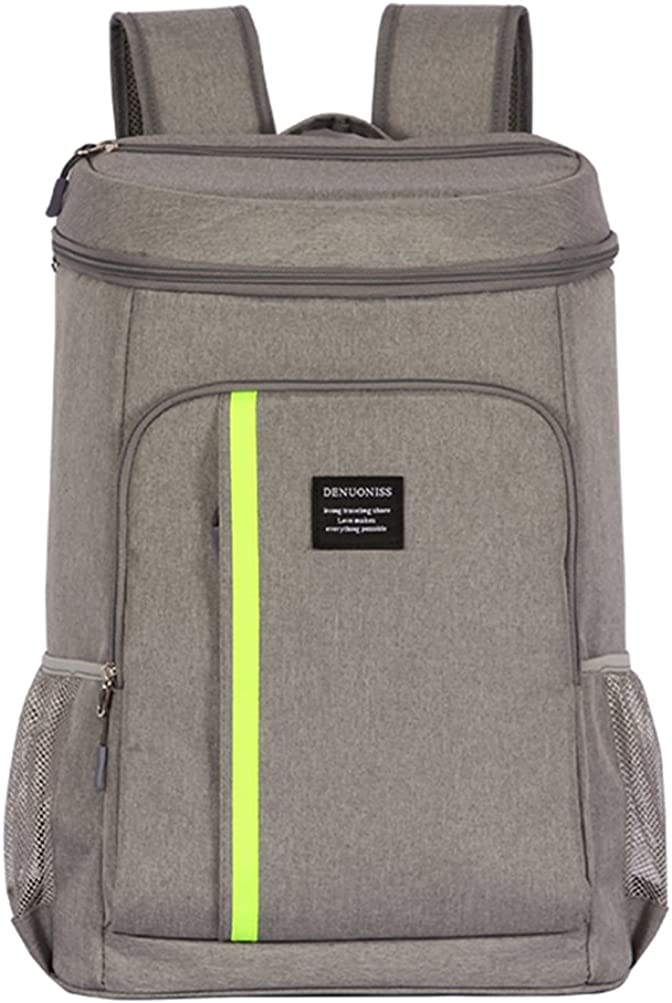 ANJUREN Backpack Cooler Bag Waterproof Back Packs for Men Women Travel Lunch Camping Day Trips