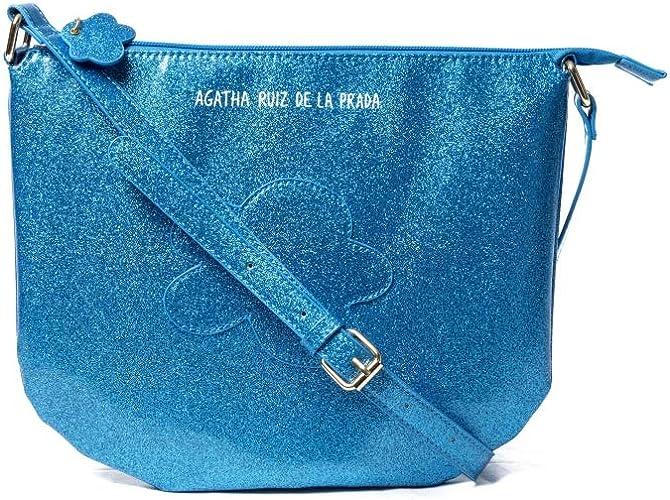 Bandolera Bolso Azul Agatha Ruiz de la Prada: Amazon.es