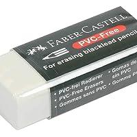 Faber-Castell GW708530 PVC Free Pencil Eraser, White, Small