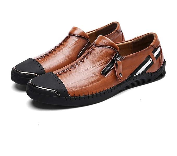 d02fc75d GOLDGOD Zapatos Casuales De Cuero De Los Hombres Aliexpress Zapatos De  Fábrica Directa,Brown,41: Amazon.es: Ropa y accesorios