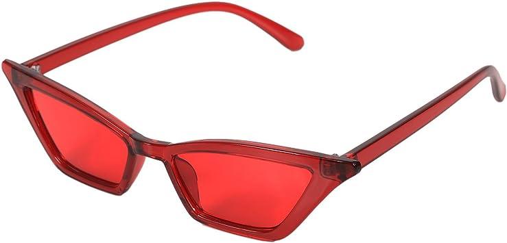 TOOGOO Gafas de sol vintage Gafas de sol de lujo de ojo de gato ...