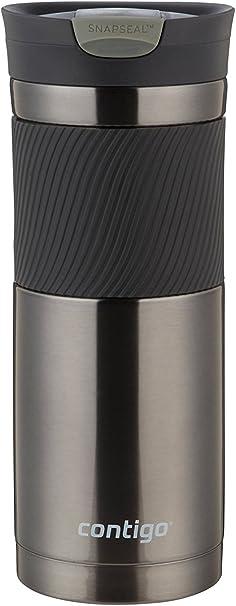 Contigo Stainless Steel Travel Mug Sports Bottle, 20 oz, Gunmetal