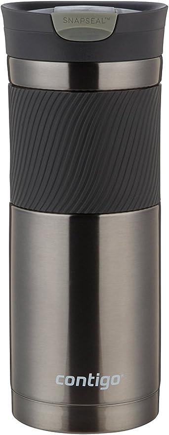 Amazon.com: Contigo Stainless Steel Travel Mug Sports Bottle, 20oz, Gunmetal: Kitchen & Dining