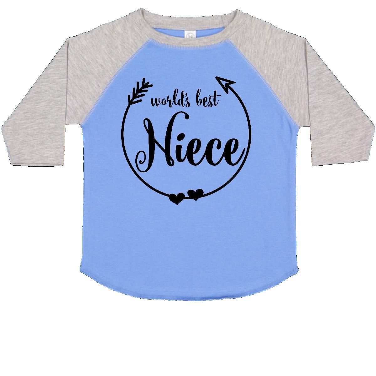 inktastic Worlds Best Niece Toddler T-Shirt