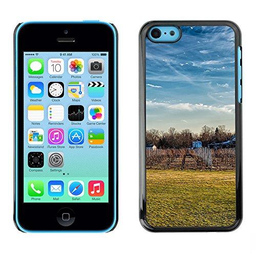 Premio Sottile Slim Cassa Custodia Case Cover Shell // F00032412 La chute de la vigne // Apple iPhone 5C