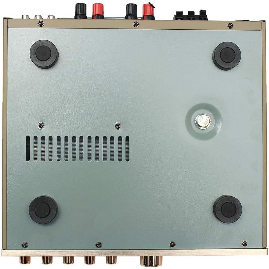 Yongse 3Pcs SANWU R/écepteur Audio Bluetooth Carte amplificatrice num/érique avec Port USB Carte TF