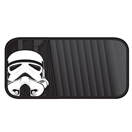 Amazon.com  Plasticolor 006219R01 Star Wars White  Stormtrooper  CD Visor  Organizer  Automotive cfb7824e637
