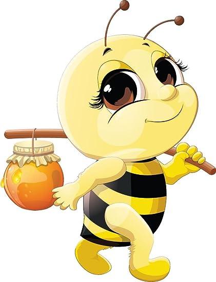 Amazoncom Funny Bee Honey Home Decal Vinyl Sticker 11 X 14