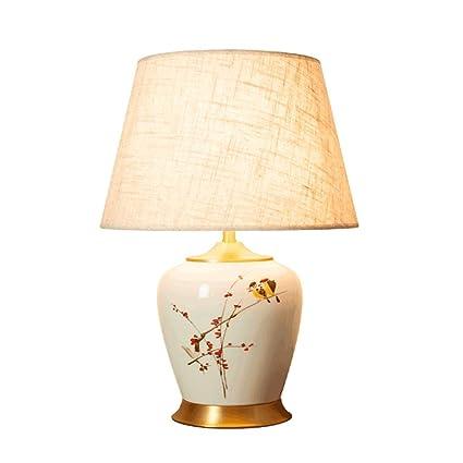 Ywyun Nueva lámpara de Mesa de cerámica Pintada a Mano China ...