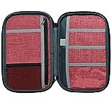 "NeatPack RFID Travel Wallet, Document Organizer & Passport Holder, 10 x 6"" (Rustic)"