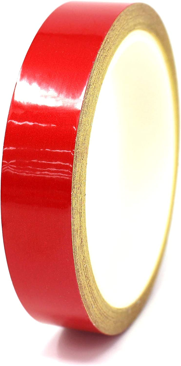 Finest Folia Oracal Vinyl Stripe Tape 751 Pinstriping Striping Sticker 33ft Car Motorcycle Bike RC Car Truck Boat Decal Red matt, 0,787/""