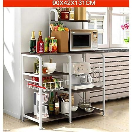 Estante de almacenamiento de la cocina Horno de microondas Soporte ...
