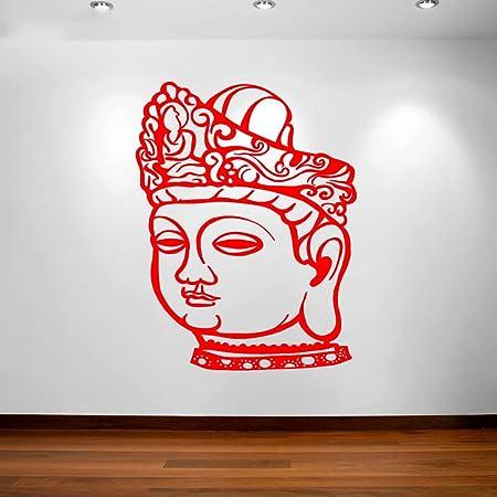 xingbuxin Buda Etiqueta de la Pared extraíble Estudio de ...