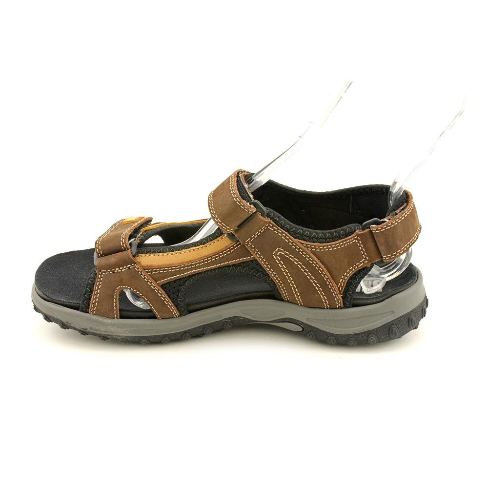 Teva Shoc Pad Brown Leather Sport Hiking Sandals # 6348 Womens Size 8 Terra