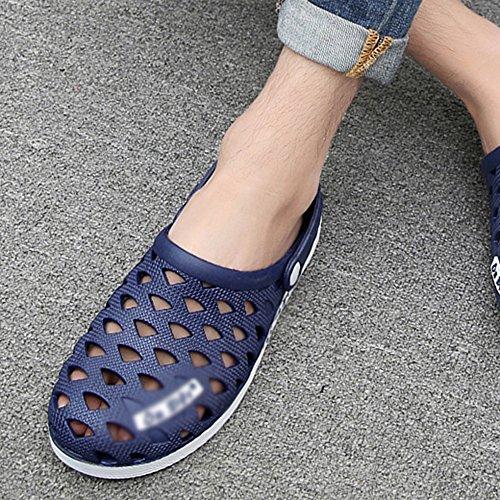 5 Blue Blue Donne Uk7 Lovers eu39 Mazhong Pantofole Sandali Cn40 E Estate Uk6 Uomini Uomo Shoes Cn41 Hole eu40 Baotou colore HqCB7