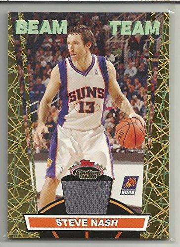 2007-08 Stadium Club Basketball Steve Nash Beam Team Jersey Card