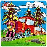 SMTSMT Wooden Puzzle Educational Developmental Training Toy