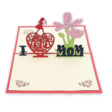 Tarjetas De Felicitación Para Mamá Mamá Regalo Aniversario