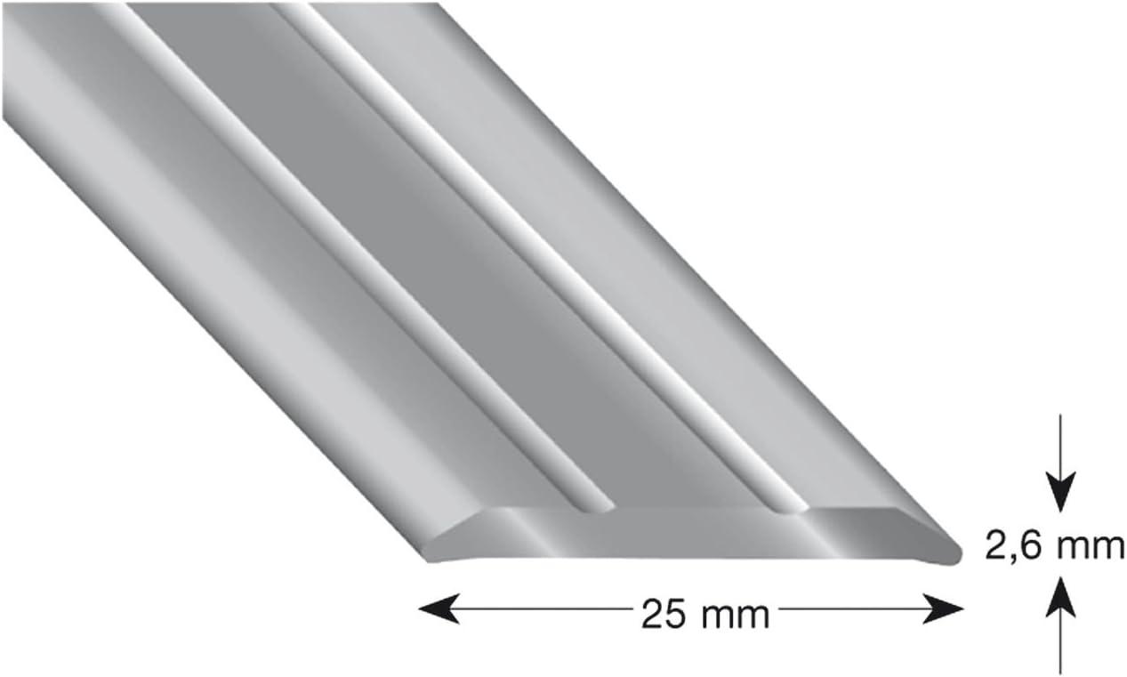 1/pieza 301/A SD 100 k/ügele/ /Perfil Aluminio Arena anodizado 25//1000/mm
