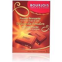 Bourjois Delice de Poudre Bronzing Powder for Women, #52 Peaux Mates/Halees, 16g