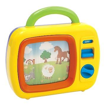 Phenomenal Amazon Com Playgo Tv For Babies Large Tv Toys Games Creativecarmelina Interior Chair Design Creativecarmelinacom