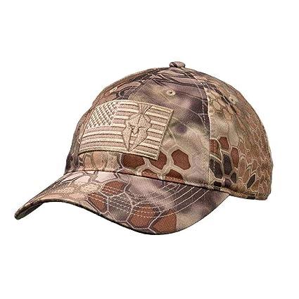 ef543990f65 Amazon.com   Kryptek Flag Camo Hat