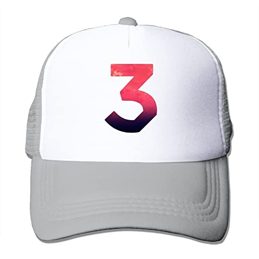 f2f6c0adb7f Vintage Chance The Rapper Number 3 Coloring Book Adult Nylon Adjustable  Mesh Hat Snapback Hip Hop