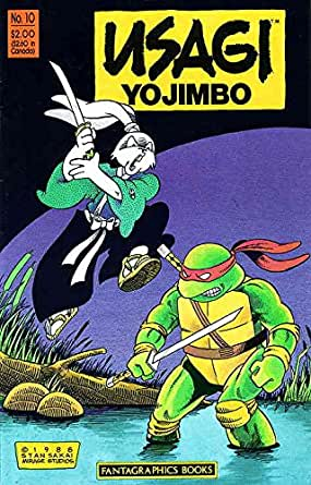 Usagi Yojimbo (Vol. 1) #10 FN ; Fantagraphics comic book