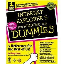 Internet Explorer 5 for Windows For Dummies