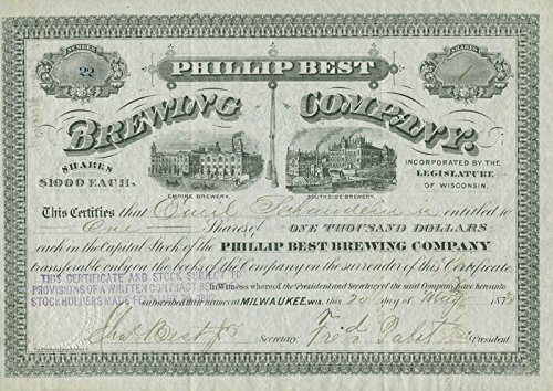 frederick-pabst-stock-certificate-signed-05-20-1873-co-signed-by-emil-schandein-charles-best-jr