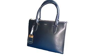ostaa halpaa erityinen kenkä uusi käsite Ralph Lauren Newbury Double Zip Black Ivory Bag: Handbags ...