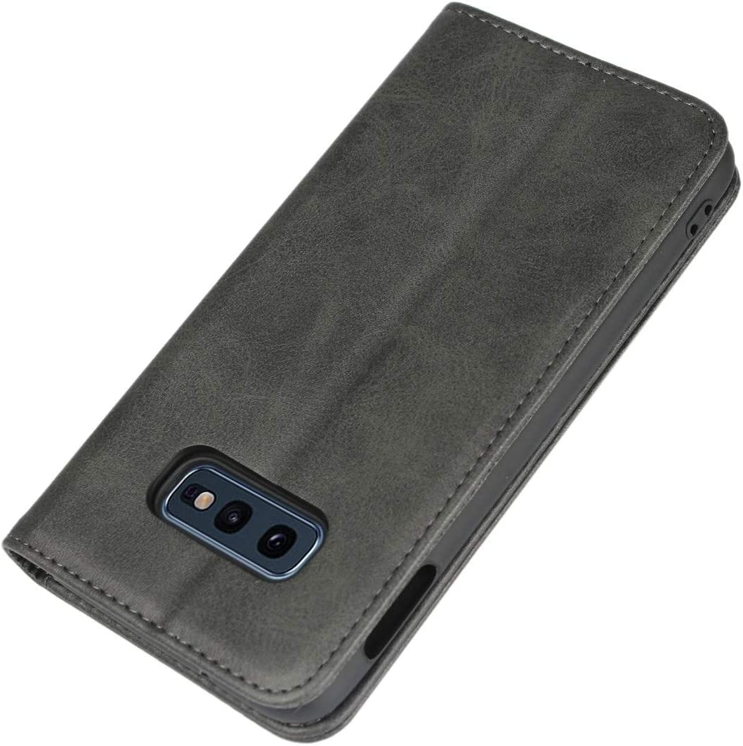 6.2Inch Samsung Galaxy S8 Plus Wallet Case -Black Cavor Magnetic Leather Flip Phone Case Cover for Samsung S8 Plus