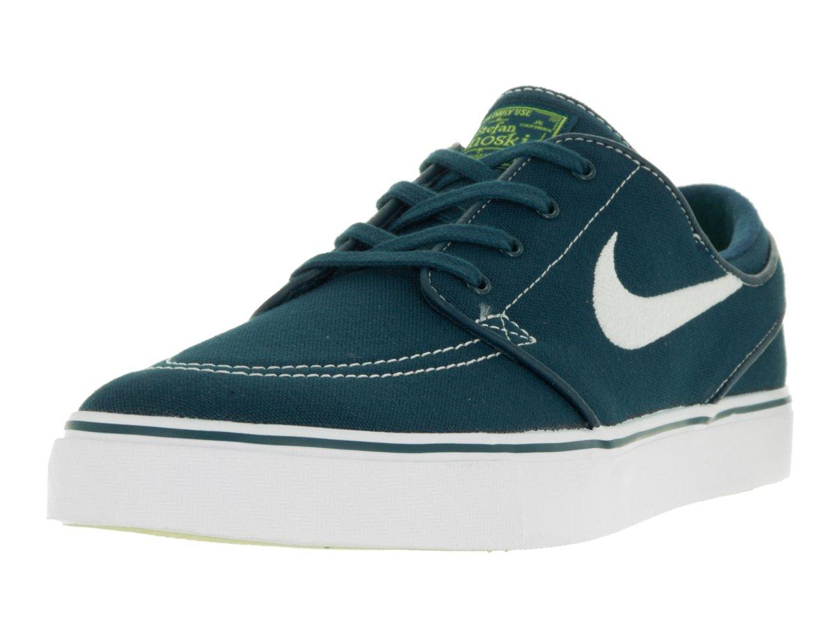 3b2437a53c8a Galleon - Nike Men s Zoom Stefan Janoski CNVS Skate Shoe Midnight Turq White  Volt White 9 D(M) US