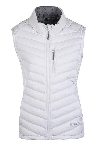 Warehouse Para De Haraz Mountain Chaleco Blanco Plumas 36 Mujer q1pwf7ndS