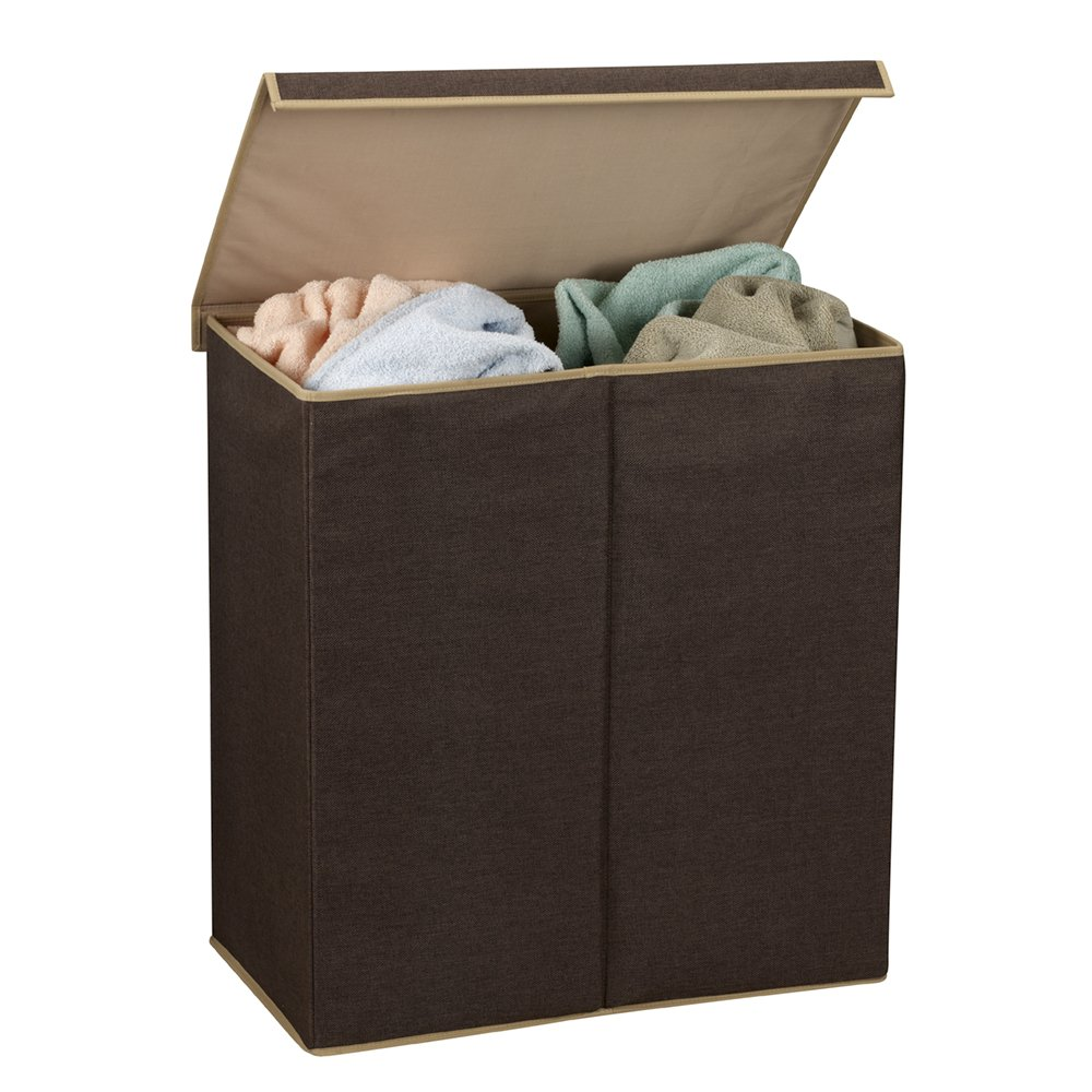 laundry hamper double sorter