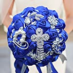 S-SSOY-Customizable-Romantic-Wedding-Bouquets-Silk-Flowers-Bridal-Holding-Roses-Bride-Bridesmaid-Brooch-Bouquet-with-Pearl-Diamond-Crystal-Ribbon-Valentines-Day-with-Free-Corsage-Blue