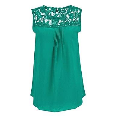 Amazon Com Wm Mw Tank Tops Women Plus Size Blouses Sleeveless O