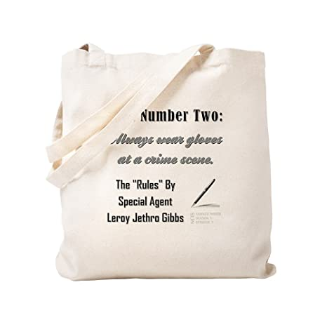 CafePress - Regla n.º 2 bolsas, lona, caqui, Small: Amazon ...