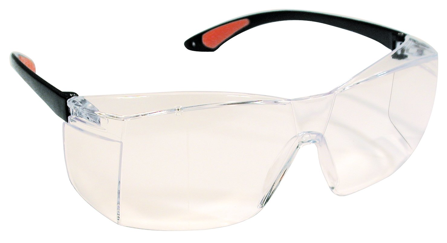 Protective Eye Wear Glasses Non-Glare, Clear #GL-2021 Defend Eyewear Protection