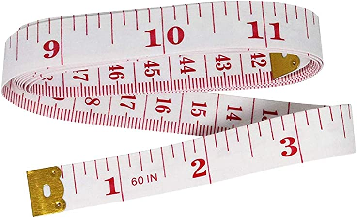 Foldable Soft Ruler 1.5M CM Inch Measure Sewing Cloth Tailor Body Measuring Tape qsbai