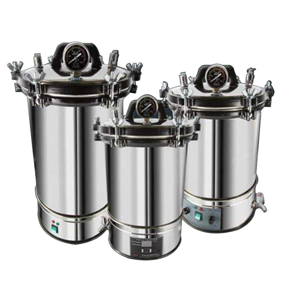 18/24L Stainless Steel Electric Autoclave Sterilizer Dental