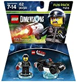 The Lego Movie Benny + Emmet + Bad Cop + The Lord Of The Rings Gimli + Gollum Fun Packs - Lego Dimensions (Non Machine Specific)
