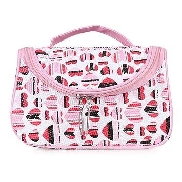 d28a9b77c4ca Amazon.com : Waterproof Travel Cosmetic Bag Portable Cute Small ...