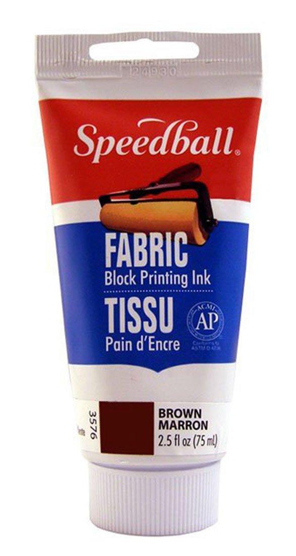 Speedball 003582 Transparent Extender Base For Fabric Block Printing Ink - Transparent Extender Base Fabric Block Printing Ink 2.5 FL OZ (75CC), Transparent