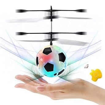 Infrarot-Induktions-Hubschrauber Spielzeug Drohne m Baztoy RC Fliegender Ball